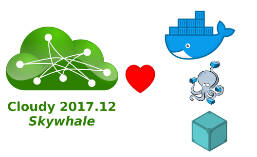 Cloudy 2017.12 Skywhale + Docker, Docker Compose, IPFS